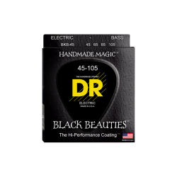 Cuerdas Bajo DR BKB-45 Black Beauties™ 45-105 Medium