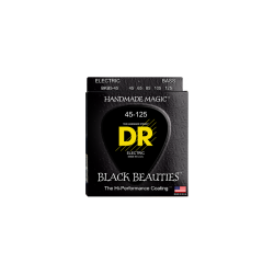 Cuerdas Bajo 5C DR BKB5-45 Black Beauties™ 45-125 Medium