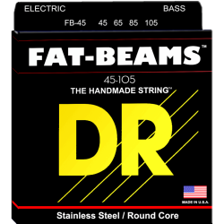 Cuerdas Bajo DR FB-45 FAT-BEAMS™ 45-105 Medium