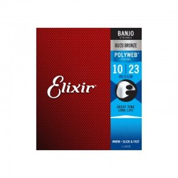 Cuerdas Banjo Elixir®11650 Medium  10-23