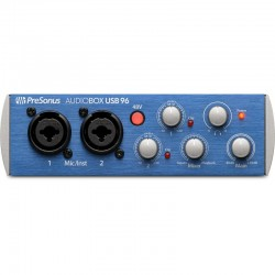 Interfaz Audio PreSonus® Audiobox USB 96 2X2