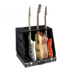 Case 3 Guitarra Apextone 500MF-Bk Stage Multistand