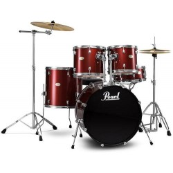 BATERIA PEARL FORUM FZH725FE Red Wine 5 Piezas Hardwar CH