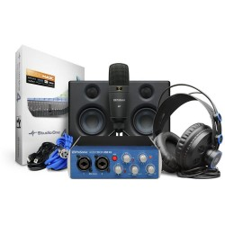 Interfaz Audio PreSonus® AUDIOBOX USB96 STUDIO Kitx4