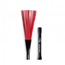 Baqueta Efectos Vic Firth BJR Jazz Rake Red