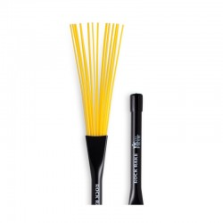 Baqueta Efectos Vic Firth BRR Rock Rake Yellow